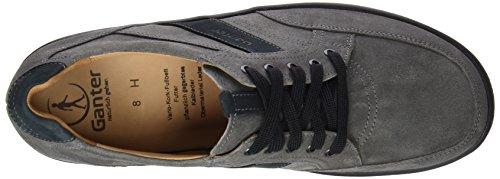 Ganter Hugo, Weite H, Derby homme gris (graphit/ocean 6330)