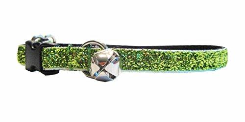 """Kitty KABOODLE hechas en Estados Unidos. Funda Breakaway Sparkle Cat collar (7–11"""")"""