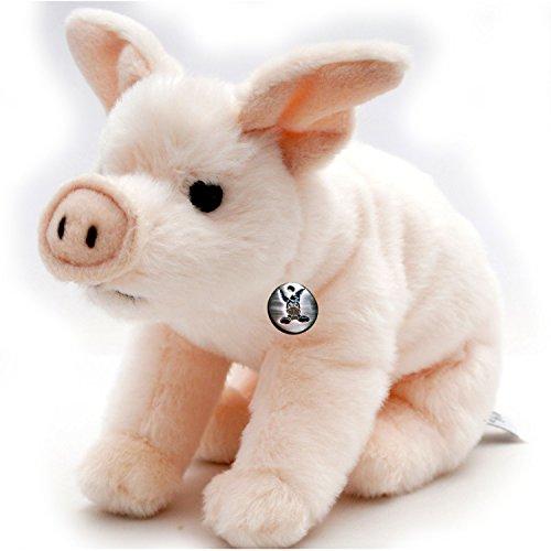 Ferkel BABE Schwein Glücksschwein 22 cm Plüschtier von (Schweinchen Nase)