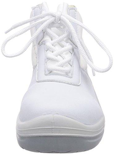 MTS Sicherheitsschuhe  M-White Creon S2  15207, Scarpe antinfortunistiche Unisex – adulto Bianco (Bianco)