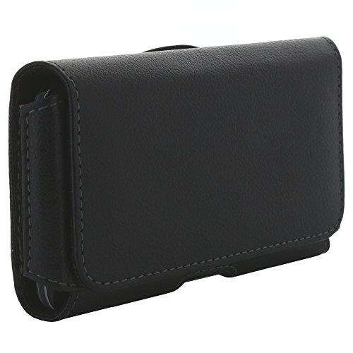 Handyhülle Quer Tasche für Doro 8031 Handytasche Schutz Hülle Etui