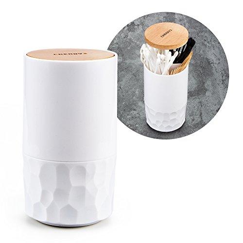 *Automatische Pop-up Wattestäbchen Tupfer Zahnstocher Inhaber Dispenser Fall Q-tips Halter Speicherorganisator Box Home Hotel Dekoration*
