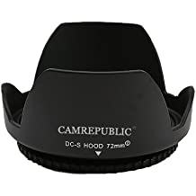 CamRepublic 67 mm parasol reversible pétalo de flor Parasol para Canon EF 35 mm f/2 IS USM, 18 Canon EF-S - 135 millimeter f/3,5 -  5 6, IS STM, Canon EF 8-15mm F4 L ojo uzm, Canon EF 70 F 300 millimeter - / 4th 0-5, 6 L IS USM, 18 Canon EF-S - 135 millimeter f/3,5 -  5,6 IS, Canon EF 100 mm f/2 8L. Macro IS USM, Canon EF 70 - 200 millimeter f/4,0 L IS USM, 17-85mm Canon EF-S f4-5,6 IS USM