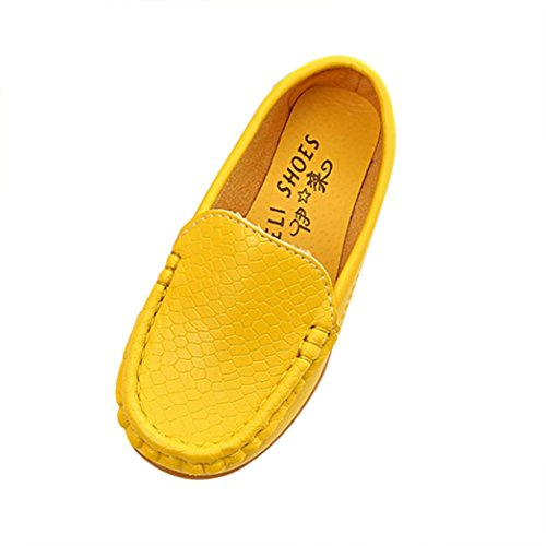 Transer Unisex Kids Loafers, Toddler Boys Girls Outdoor Walking School Shoes