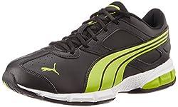 Puma Mens Tazon VI DP Black Mesh Running Shoes - 6 UK/India (39 EU)