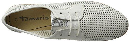 Tamaris Damen 23603 Sneakers Weiß (White 100)