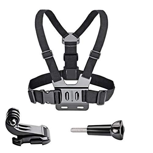 Leoboone Adjustable Chest Body Strap Mount Harness Belt for Gopro Hero 2/3/3+/4/5/6 Chest Mount Harness