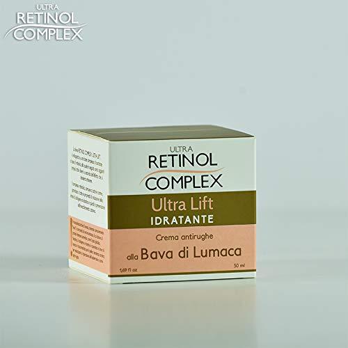 Ultra Retinol Complex Crema Viso Antirughe Idratante alla Bava di Lumaca - 50 ml
