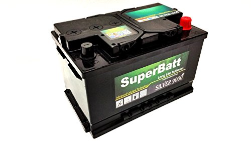 Price comparison product image SuperBatt TYPE 100 / 096 Heavy Duty Maintenance Free Battery Petrol / Diesel Car / Van