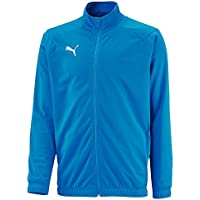 Puma Liga Sideline Poly Core Jacket, Hombre, Electric Blue Lemonade/White, L
