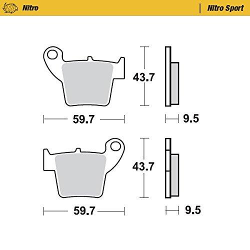 Moto Master 941/21/Nitro KX65/00-09/RM65/03-05/Front Brake Pads