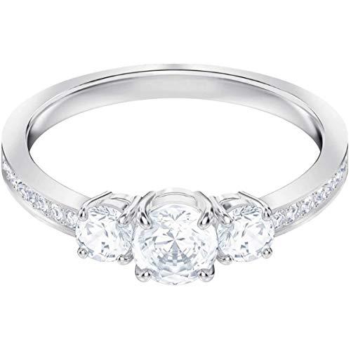Swarovski Damen-Ringe Edelstahl Kristall '- Ringgröße 60 5448897