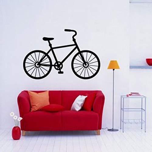 Mountainbike Fahrrad Wandaufkleber Wohnzimmer Dekoration Haushalt Vinyl Wandtattoos Schlafzimmer Kunst Poster Wandbilder 63 * 42 cm