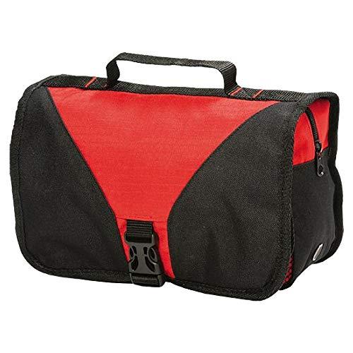Shugon Bristol - Sac de toilette repliable - 4 litres (Taille unique) (Rouge/Noir)