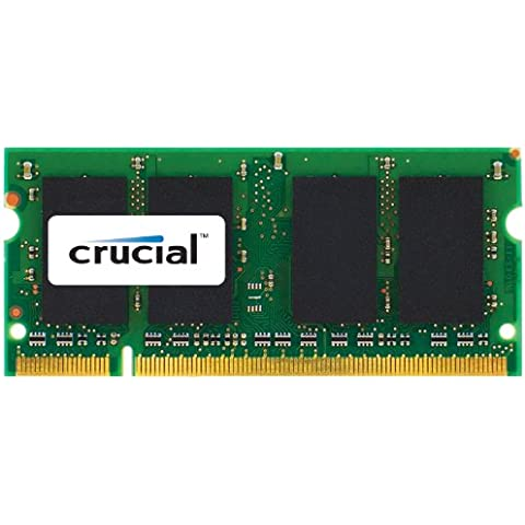 Crucial - Kit de memoria para Mac (4 GB, 2x 2 GB DDR2, PC2-5300, 667 MHz, SODIMM, 200-Pin)