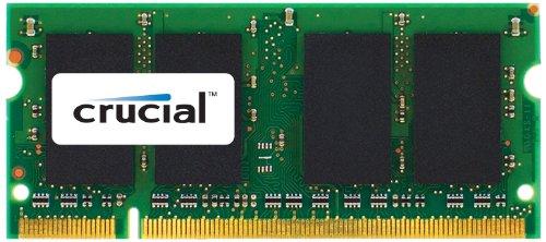 Crucial Memoria per Mac da 4 GB, DDR3, 1066 MT/s, (PC3-8500) SODIMM, 204-Pin - (S 4 Sodimm Memoria)