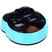 LVRXJP Alimentador automático de Mascotas, dispensador Digital de Alimentos para Mascotas con 4 Comidas para