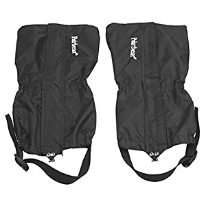 41J2BOYDcYL. SS300  - Contever® 1 pair Unisex Waterproof Gaiters - Durable Anti-dirty Breathable Legging For Men / Women Outdoor Sports Hiking Walking Climbing Hunting Skiting