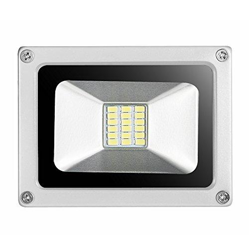 907ed1d86 10x20W Luz Blanco frío Focos LED, La luz ordinaria LED 1500LM,Impermeable  IP65