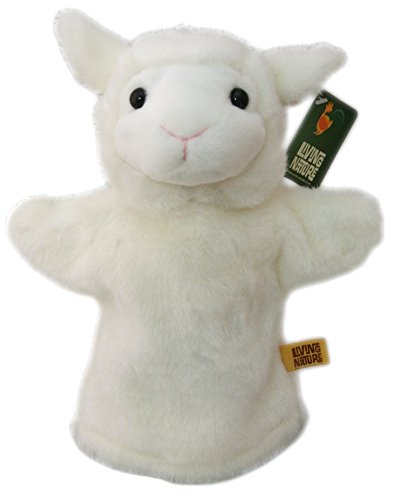 Living Nature Peluche Mouton La Ferme ~ (Farm Animal Finger Puppets)