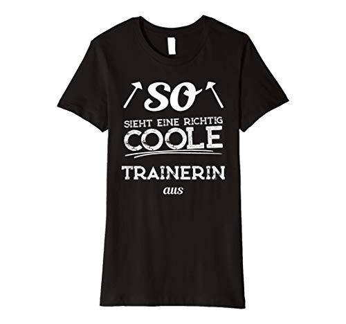 g coole Trainerin aus T Shirt ()