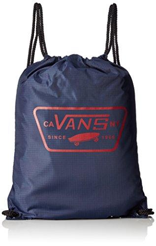 Vans League Bench Bag Rucksack, 44 cm, 12 L, Dress blaus-Racing Red