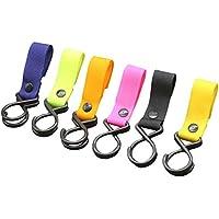 NGHXZ Clip para bolso de bebé, 1 gancho para cochecito, manos libres para ganchos de bebé, ajuste universal para cochecito de bebé