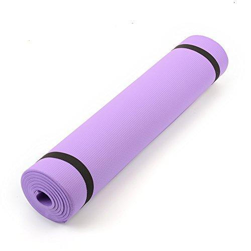 """Forfar 6 mm de espesor 68 """"x24"""" x0.24"""" Estera de yoga Antideslizante Perdre du poids Fitness d'exercice"""