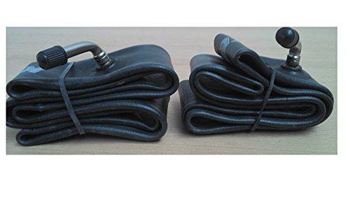 2 x Kenda Fahrradschlauch 12 Zoll AV Autoventil, 45 Grad, 12 1/2x2 1/4 47/62-203 Kinderwagen, Roller, Bollerwagen