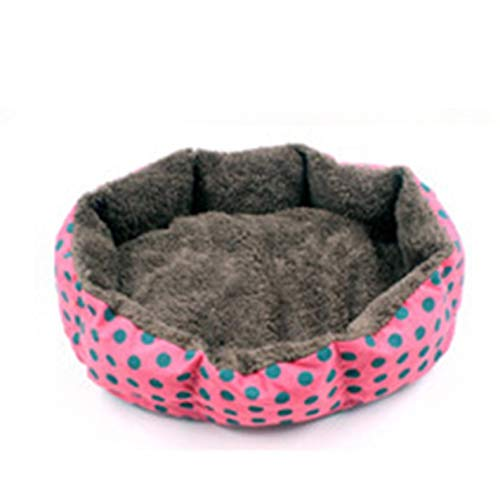 In Honest Lovely Pink Grey Dog Bed Pad Cartoon Shaped Kennels Lounger Sofa Soft Pet House Dog Bed Mat Big Basket Dog Mattress Pet Supplies Exquisite Workmanship