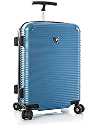 ... 50% SALE ... PREMIUM DESIGNER Hartschalen Koffer - Heys Crown Executive Shuttle Blau - Trolley mit 4 Rollen Medium