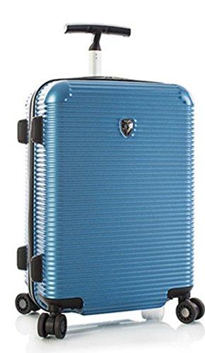 ... 50% SALE ... PREMIUM DESIGNER Hartschalen Koffer - Heys Crown Executive Shuttle Blau - Handgepäck Blau