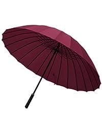odowalker 44 116,84 resistente 24 costillas lluvia paraguas Classic resistente al viento resistente al