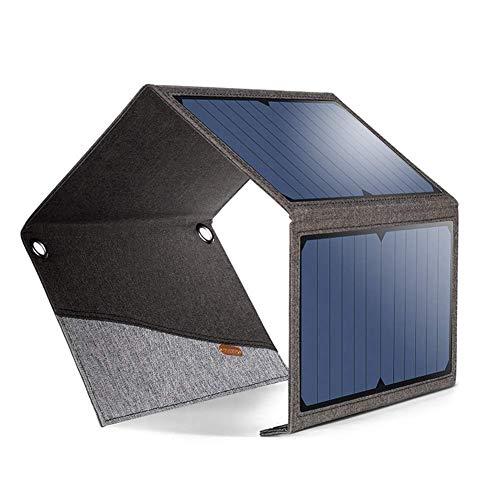 SunnyBAG Solar Ladegerät SUNBOOSTER solar Charger 21W; Faltbares Solarmodul wasserfest und Ultraleicht für Handy, Smartphone (Galaxy S7/S8/S9, iPhone 8/X/XS), iPad, inkl. Micro-USB-Kabel