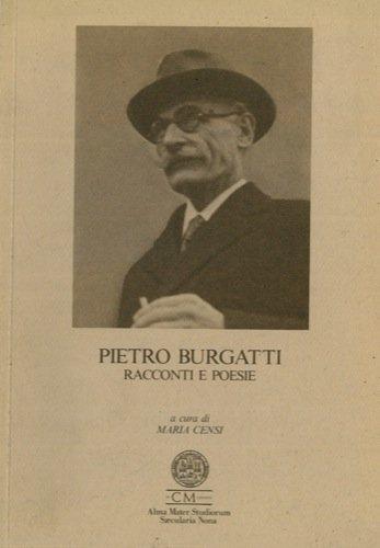 Pietro Burgatti racconti e poesie.