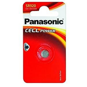 Panasonic SR 920 EL Silberoxid-Uhrenbatterien Knopfzelle