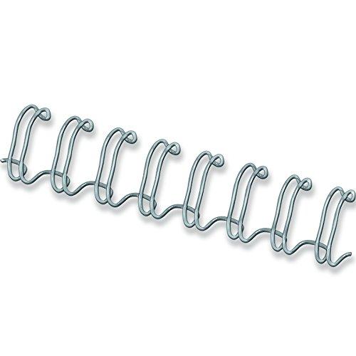 Fellowes-Pack-de-100-canutillos-tipo-wire-doble-espiral-paso-31-34-agujeros