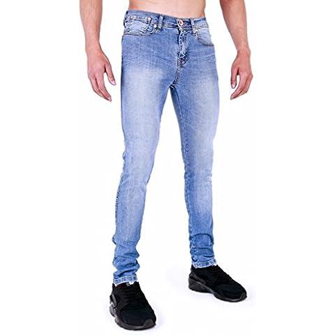 Zico Hombre Super Skinny Stretch Vintage Jeans