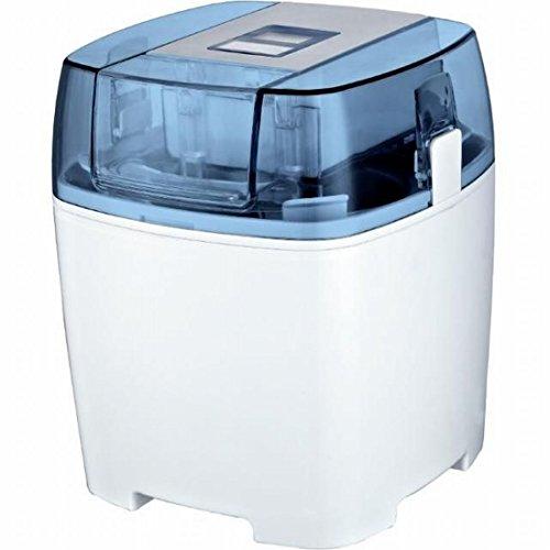 Syntrox Turbo- Eismaschine Digital mit Timer Frozen Joghurt Maschine Soft-Eis Milchshakemaschine mit Volumen für 1,5 Liter Eiscreme