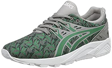 Asics Gel-Kayano Trainer Evo, Unisex-Erwachsene Sneakers, Grün (Green/Green 8484), 38 EU