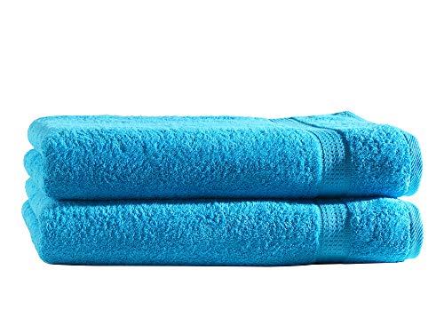 mueskaan/® Set di asciugamani in spugna/ /Serie Elegance in 12/colori e 4/dimensioni bordeaux Cotone 2er 30 x 50 cm