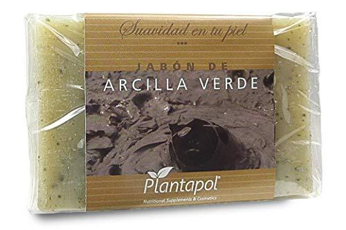 Jabón Natural Arcilla Verde 100 gr de Plantapol