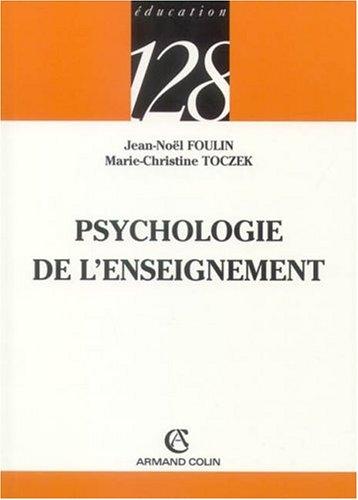 Psychologie de l'enseignement