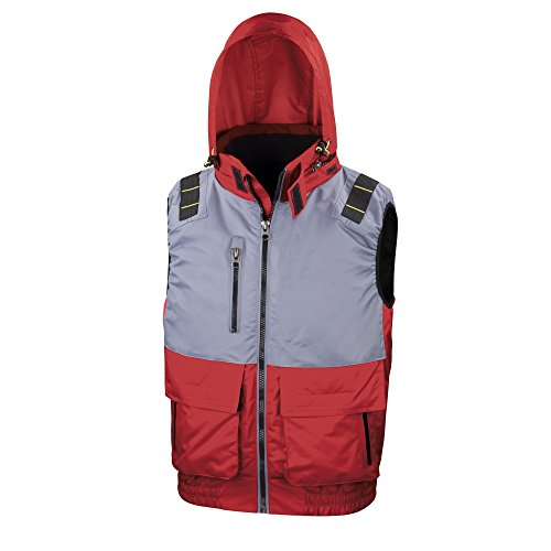 Result Work-Guard- X-Over - Gilet - Uomo Blu reale/grigio