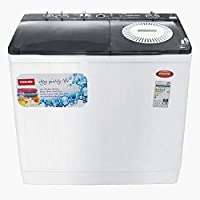 Nikai 18Kg Semi-Automatic Top Load Washing Machine, White - NWM1801SP