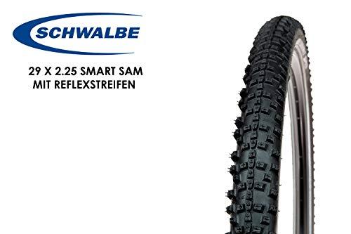 29 Zoll Schwalbe SMART SAM Fahrrad Reifen 57-622 Reflexstreifen 29 x 2.25 MTB Tire Mantel Decke