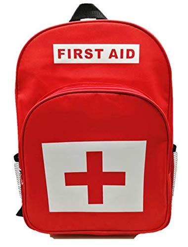 Jipemtra Erste-Hilfe-Rucksack, leer, für Erste-Hilfe-Rucksack, für Camping, Wandern, Trekking, Abenteuer, Zuhause, Gesundheit