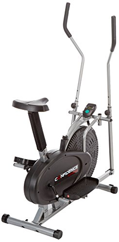 Confidence 2 in 1 Ellipsen-Cross-Trainer & Heimfahrrad - 2