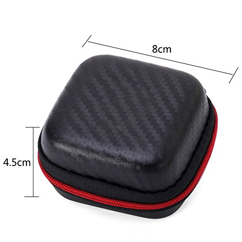 Fidget Cube Toy Anxiety Attention Stress Relief Stocking stuffer Relieves Stress for Children and Adults Christmas Gift Black (Red) - 6