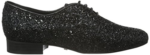 Buffalo London 30848 Glitter, Scarpe Stringate Donna Nero (Nero (PRETO 01))